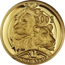1/10 Ounce / 10 Rand (Lion) – avers