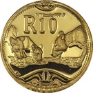1/10 Ounce / 10 Rand (Lion) – revers