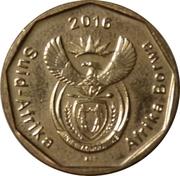 50 Cents (Suid-Afrika - Afrika Borwa) -  avers