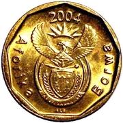 10 cents (en tswana - AFORIKA BORWA) -  avers