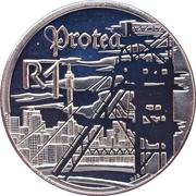 1 Rand (Industrie minière) – revers