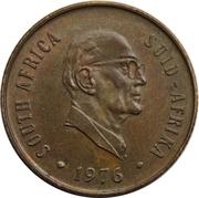2 cents (Jacobus J. Fouché) -  avers