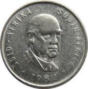 5 cents (Balthazar J. Vorster) -  avers