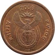 5 cents (en sepedi / sesotho - AFRIKA BORWA) -  avers