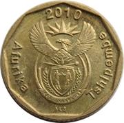 10 cents (en Venda - AFURIKA TSHIPEMBE) -  avers