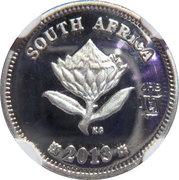 2 ½ Cents (Trains d'Afrique du Sud - Class 35) – avers