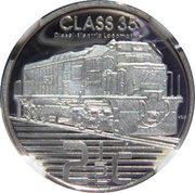2 ½ Cents (Trains d'Afrique du Sud - Class 35) – revers
