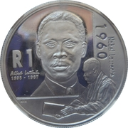 1 Rand (Albert Luthuli) -  revers