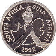 2 rand (Jeux Olympiques Barcelone 1992) – avers