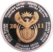 90th Anniversary of the South African Reserve Bank Crown -  avers