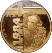 Protea Series - Nobel Prize Winners - Archbishop Desmond Mpilo Tutu – revers
