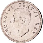 5 shillings - George VI (Anniversaire du Cap) – avers