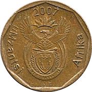 10 cents (en xhosa - UMZANTSI AFRIKA) -  avers