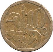 10 cents (en xhosa - UMZANTSI AFRIKA) -  revers