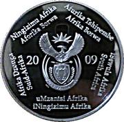 2 Rand (Coupe du monde de football Afrique du Sud 2010 - mascotte Zakumi) – avers