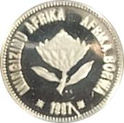 2 ½ Cents (Hippocampe de Knysna) – avers