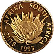 1/10 d'once d'or - 200 ans de banque en Afrique du Sud – avers