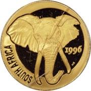 1/4 d'once d'or - Natura Éléphant – avers