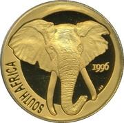1 once d'or - Natura Éléphant – avers