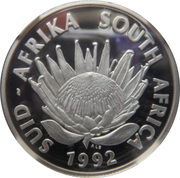 1 Rand / Coinage Centennial – avers