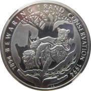 1 rand (Conservation) – revers