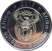 5 Rand (South Africa-Afrika Dzonga) – avers