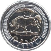 5 Rand (South Africa-Afrika Dzonga) -  revers
