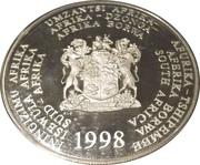 2 Rand (Manchot du Cap) – avers