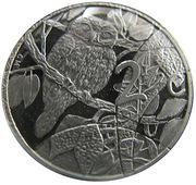 2½ Cents (Hibou) – revers