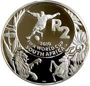2 Rand (Coupe du monde de football Afrique du Sud 2010) – revers