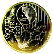 10 Rand (Grue de paradis - colorisé) – avers