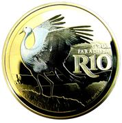 10 Rand (Grue de paradis - colorisé) – revers