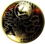 5 Rand (Disa venusta - colorisé) – avers