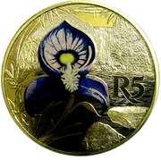 5 Rand (Disa venusta - colorisé) – revers