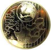 10 Rand (Souimanga orangé - colorisé) – avers