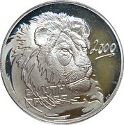 10 Cents (Lion, prédateur de l'Afrique) – avers