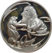 10 Cents (Lion, prédateur de l'Afrique) – revers