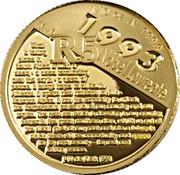 1/10 oz (R5 Noble Prize Winners) – revers