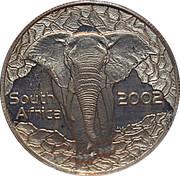 10 cents Éléphant, force de l'Afrique – avers