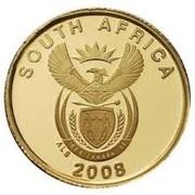 1 Rand (Coupe du monde de football Afrique du Sud 2010) – avers