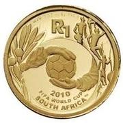 1 Rand (Coupe du monde de football Afrique du Sud 2010) – revers