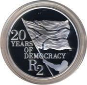 2 Rand (20 ans de démocratie) – revers