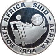 2 rand (Coupe du monde de football USA 1994) – avers