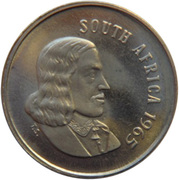 5 cents - Van Riebeeck (en anglais - SOUTH AFRICA) -  avers