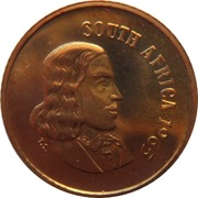 1 cent - Van Riebeeck  (en anglais - SOUTH AFRICA) -  avers