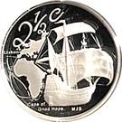 2½ Cents (Vasco de Gama) – revers