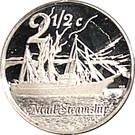 2½ Cents (Bateau à vapeur Scot) – revers