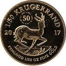 1/50 Ounce Krugerrand – revers