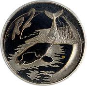 2 Rand (Baleine franche australe) – revers