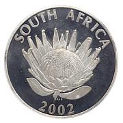 1 Rand (Bafana Bafana) – avers